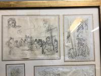 Decorative Collection of 18th Century Sketches (5 of 9)