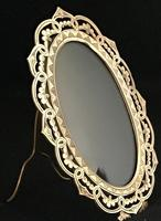 Victorian Brass Oval Easel Photo Frame (3 of 3)