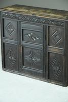 Small Carved Oak Cupboard (5 of 13)