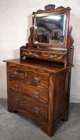 Edwardian Simulated Walnut Bedroom Suite (17 of 21)
