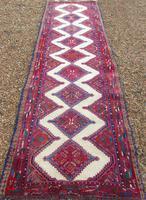 Neat Antique Sarab Runner Carpet (2 of 8)