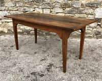 Antique French Walnut Farmhouse Table (4 of 23)