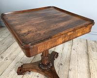 William IV Rosewood Occasional Table (6 of 7)