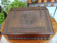 Country Oak Bible Box 1723 from Willaston Hall