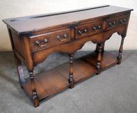 English Oak 18th Century Style Pot Board Dresser Base (2 of 7)
