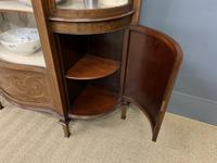 Maple & Co Inlaid Mahogany Display Cabinet (17 of 17)