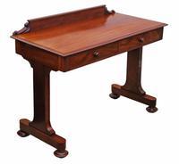 Victorian 19th Century Mahogany Writing Desk / Dressing Table (7 of 8)