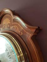 Superb Antique Rosewood Sheraton Inlaid Barometer (6 of 7)