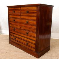 Walnut Chest of Drawers 19th Century (5 of 12)