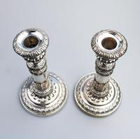 Mathew Boulton - Old Sheffield Silver Plate / Fused Plate Telescopic Candlesticks c.1800 (6 of 8)