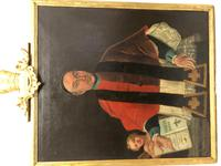 Huge Fine 18th Century Italian Religious Oil Painting Portrait Pope Clement XIII (19 of 47)
