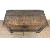 Antique 18th Century Joined Oak Coffer (6 of 15)
