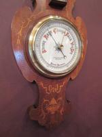 Antique Sheraton Inlaid Banjo Barometer (2 of 7)