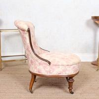 Tub Chair Carved Mahogany 19th Century (5 of 10)