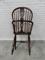 19th Century Windsor Lowback Armchair (6 of 7)