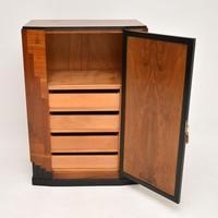 Art Deco Figured Walnut Compactum Wardrobe (4 of 11)