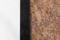 Pair of Ebonised Chinese Side Tables with Marble Tops (9 of 10)