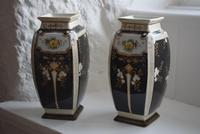 Pair of Early 20th Century Japanese Noritake Vases (4 of 10)