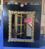 Georgian Papier-mâché  Gilt Brass Mounted Mirror (4 of 5)