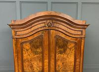 19th Century Burr Walnut Wardrobe (11 of 16)