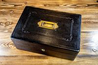 Leather Desk Box c.1890 (2 of 10)