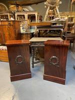 Pair of Mahogany Pedestal Cabinets (12 of 12)