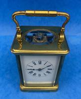 Victorian 8 Day  Brass Carriage Clock (6 of 13)