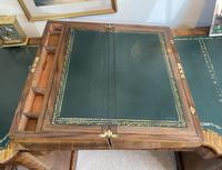 Victorian Brass-bound Walnut Writing Slope with Secret Drawers (20 of 39)