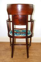 Arts & Crafts Inlaid Armchair by J S Henry 'London' (4 of 9)