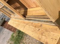 Very Large Antique Pine Dresser Sliding Glazed Doors (3 of 10)
