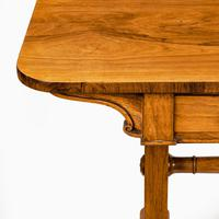 Late Regency Rosewood End Support Table Gillows or Holland & Sons (5 of 8)