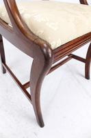 Pair of Regency Mahogany Open Armchairs / Carvers (10 of 13)