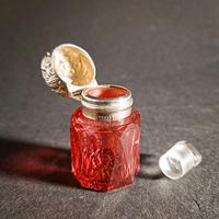 Edwardian Silver Mounted Scent Bottle (2 of 4)