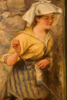 "Oil Painting by Alexander Davidson ""Morning Sunshine"" (4 of 6)"