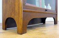 Handsome 1930s Barrister Solicitors Oak Bookcase (7 of 13)