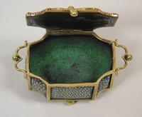 Fine Antique Shagreen Jewellery / Ring Trinket Box (4 of 9)