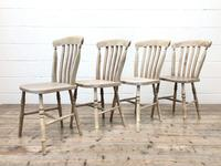 Set of Four Antique Farmhouse Dining Chairs (3 of 8)