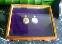 Willem Cigar Display Case 1940s Tobacco Shop Box / Pocket Watch Box