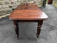 Antique Mahogany Wind Out Extending Dining Table (11 of 12)