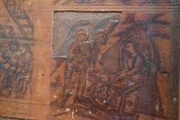 Italian Renaissance Cedar Box on Later Stand (10 of 13)