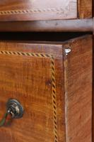 Tall Edwardian Mahogany & Inlaid Chest of Drawers (8 of 13)