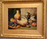 Superb still life oil painting by Richard Ansdell RA (8 of 8)