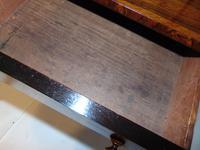 Regency rosewood two tier etagere (6 of 7)