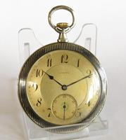 Antique Zenith Pocket Watch with Niello Case, 1914 (2 of 5)