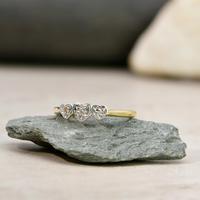 The Vintage 1961 Three Heart Diamond Ring (2 of 4)