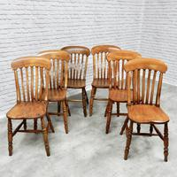 Set of 6 Windsor Kitchen Chairs (2 of 6)