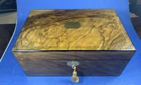 Victorian Brass Inlaid Walnut Writing Slope (19 of 21)