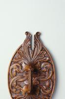 Scandinavian / Norwegian 'Folk Art' Baroque / Acanthus Carved Tine Box c.1910 (21 of 39)