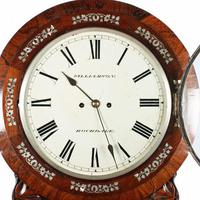 Rosewood Double Fusee Wall Clock (5 of 6)