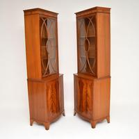 Pair of Antique Mahogany Waring & Gillows Bookcases (2 of 9)
